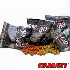 Бойли Тонущие Starbaits Performance Baits Grab & Go Strawberry 14Мм 0.5Кг