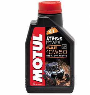 MOTUL ATV SXS Power 4T 10W-50 1л.