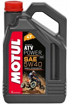 MOTUL ATV Power 4T 5W-40 4л.