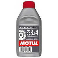 MOTUL DOT 3&4 Brake Fluid 0,5л.